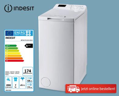 Hofer 28.3.2019: Indesit Toplader Waschmaschine BTW D71253 EU im Angebot