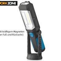 Workzone LED-Arbeitsleuchte und Leuchte Swing im Aldi Süd Angebot