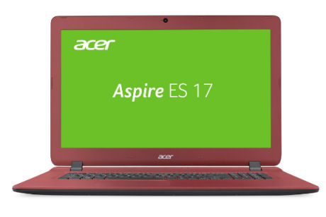 Real: Acer Aspire ES1-732-C1FB Notebook im Angebot