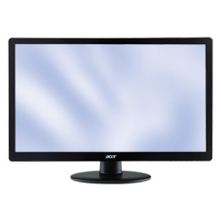 Acer S240HLBID 24-Zoll FullHD TFT-Display / Monitor bei Real