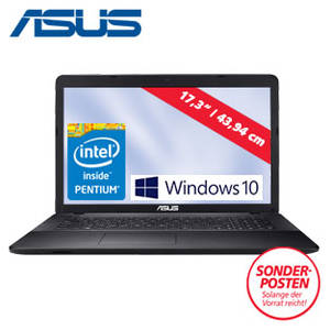 Asus F751SA-TY011T Notebook bei Real erhältlich