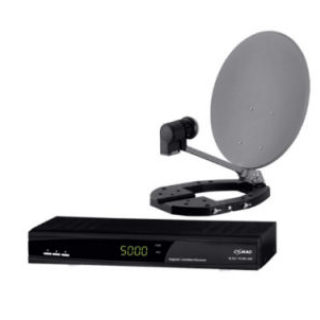 Comag MDS 60 Digitale HDTV Mini-Sat-Anlage Komplett-Set im Real Angebot