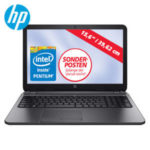 HP 250 G3 Notebook mit Pentium N3540 Quad-Core im Real Angebot