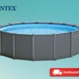 Intex Graphite Panel Pool im Hofer Angebot ab 2.5.2019