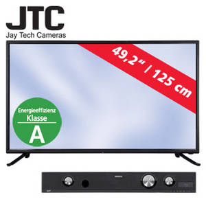 jtc 3050c 50 zoll fullhd led tv fernseher bei real erh ltlich. Black Bedroom Furniture Sets. Home Design Ideas