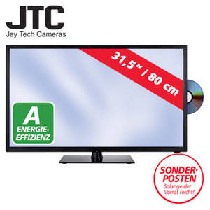 jtc 4032d 31 5 zoll led hd tv dvd fernseher bei real erh ltlich. Black Bedroom Furniture Sets. Home Design Ideas