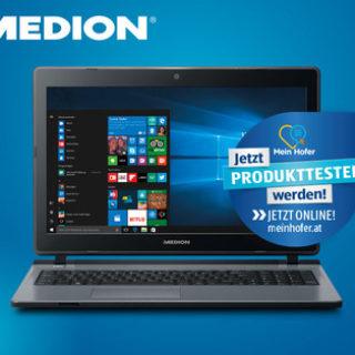 Medion Akoya P6670 MD 60400 Notebook im Hofer Angebot