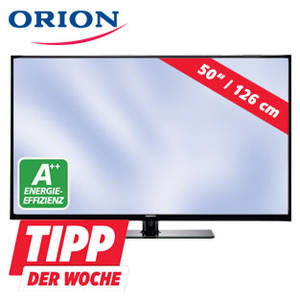 real orion clb50b1200 50 zoll fernseher als tipp der woche. Black Bedroom Furniture Sets. Home Design Ideas