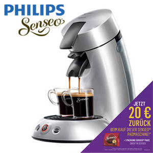 Real: Philips Senseo Kaffee-Padautomat New Original HD 7818/52 im Angebot
