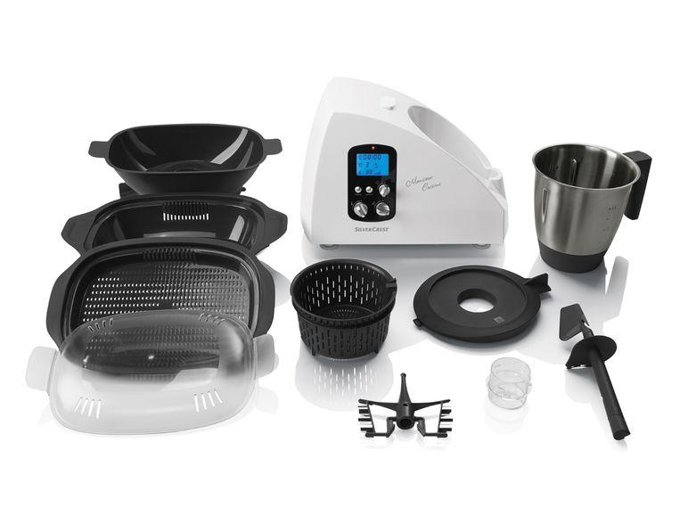 Lidl: Silvercrest SKMH 1100 A1 Küchenmaschine im Angebot