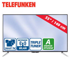telefunken l55f243n3c 55 zoll fullhd led tv fernseher bei real erh ltlich. Black Bedroom Furniture Sets. Home Design Ideas