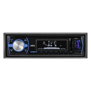AEG AR 4030 BT Autoradio mit Bluetooth-Freisprecheinrichtung im Real Angebot ab 30.7.2018 - KW 31