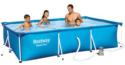 Kaufland bestway deluxe splash pool set und chill lounge for Pool im angebot