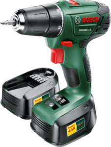 Norma: Bosch PSR 1800 LI-2 Lithium-Ionen Akku-Bohrschrauber im Angebot