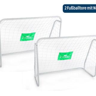 Hofer 1.4.2019: Crane Fußballtor mit Torwand / Fußballtore mit Netz im Angebot