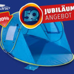 Crane Pop-Up-Strandmuschel als Jubiläums-Angebot bei Hofer ab 24.5.2018 – KW 21