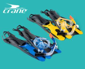 Crane Schnorchel- und Tauch-Set