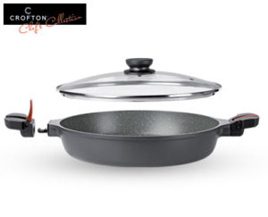 Crofton Chefs Collection Brat- und Backofenpfanne