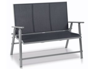 lidl florabest aluminium gartenbank grau im angebot. Black Bedroom Furniture Sets. Home Design Ideas