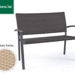 Gardenline Geflecht-Gartenbank und Geflecht-Relaxsessel im Angebot bei Aldi Süd ab 17.5.2018 – KW 20