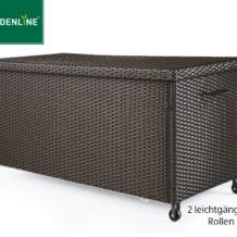 Gardenline Geflecht-Kissenbox im Angebot bei Aldi Süd ab 17.5.2018 erhältlich