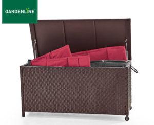 Gardenline Geflecht-Kissenbox bei Aldi Süd erhältlich