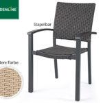 Gardenline Geflecht-Klappsessel und Geflecht-Stapelstuhl im Angebot bei Aldi Süd ab 17.5.2018 [KW 20]