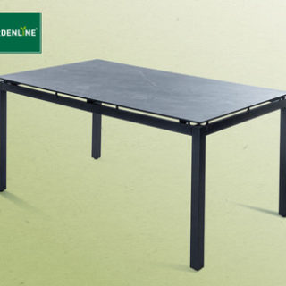 Hofer 24.5.2017: Gardenline Premium-Tisch und Design-Sessel mit HPL-Platte im Angebot