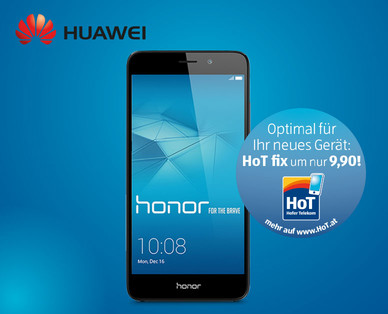 Hofer 29.5.2017: Huawei Honor 7 Lite Smartphone im Angebot