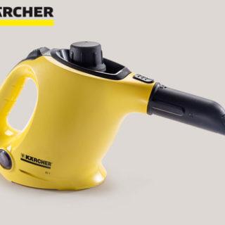 Hofer 16.4.2018: Kärcher Hand-Dampfreiniger SC1 Basic im Angebot