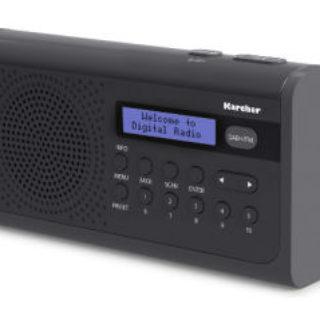 Karcher DAB 2405 Portables DAB+ FM PLL-Radio im Real Angebot ab 6.8.2018 - KW 32
