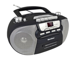 Real: Karcher RR 5040 CD-Player im Angebot