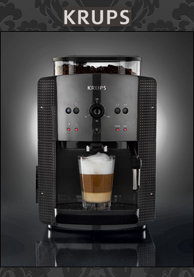 Norma: Krups EA810B Espresso-Kaffee-Vollautomat im Angebot