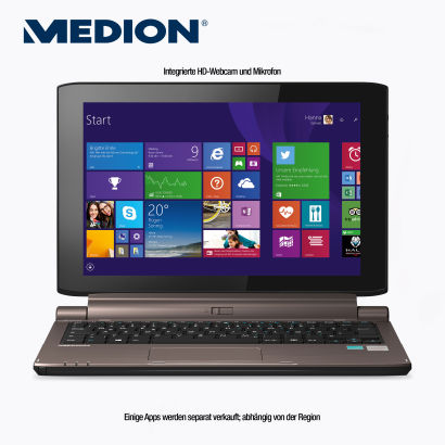 Hofer: Medion Akoya P2214T MD 99480 Multimode-Touch-Notebook im Angebot