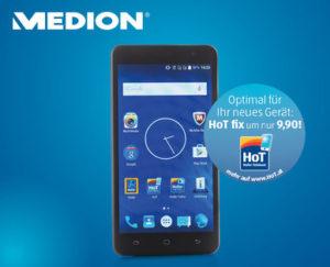 Medion Life E5504 Smartphone bei Hofer erhältlich