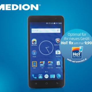 Medion Life E5504 Smartphone im Angebot » Hofer 19.1.2017 - KW 3