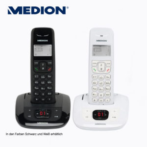 aldi nord medion life e63192 md 84832 dect telefon im angebot. Black Bedroom Furniture Sets. Home Design Ideas