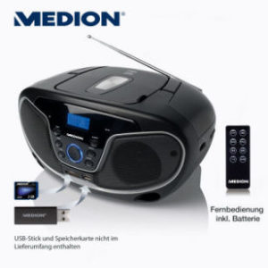 Aldi Nord: Medion Life E66224 MD 84101 Stereo-Sound-System im Angebot [KW 17 ab 27.4.2017]