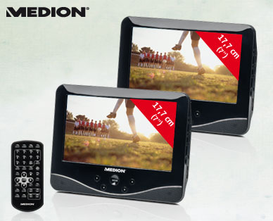 Hofer: Medion Life P72027 MD 84106 Tragbarer DVD-Player im Angebot