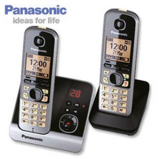 Panasonic KX-TG6722 Duo Schnurlos-DECT-Telefon im Real Angebot [KW 12 ab 19.3.2018]