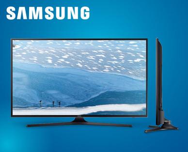 Hofer 8.6.2017: Samsung UE43KU6070 43-Zoll UHD-TV Fernseher im Angebot