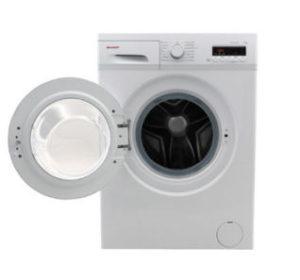 sharp es fb7145w de a waschmaschine bei real erh ltlich. Black Bedroom Furniture Sets. Home Design Ideas