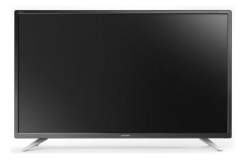 Real: Sharp LC-32CFG6032E 32-Zoll Full-HD Fernseher im Angebot