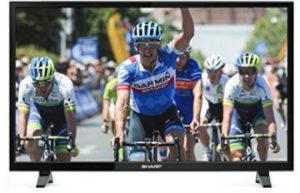 Sharp LC-32CHE4042E 32-Zoll LED-HD-TV Fernseher bei Real erhältlich