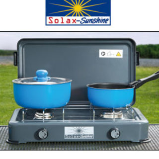 Solax-Sunshine 2-flammiger Campingkocher im Norma Angebot ab 29.4.2019
