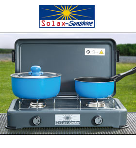 Solax-Sunshine 2-flammiger Campingkocher: Norma Angebot ab 10.9.2018 – KW 37