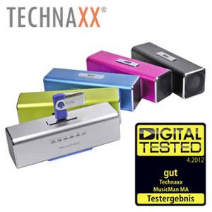 Technaxx MusicMan MA Soundstation mit FM-Radio bei Real erhältlich