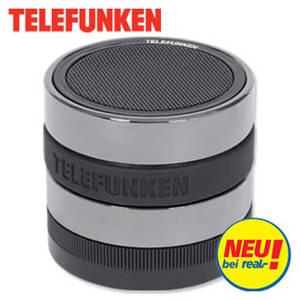 Real: Telefunken BS1002 Bluetooth-Lautsprecher im Angebot [KW 21 ab 22.5.2017]