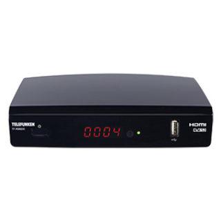 Telefunken TF-RS9200 HDTV-SAT-Receiver: Real Angebot ab 24.12.2018 - KW 52