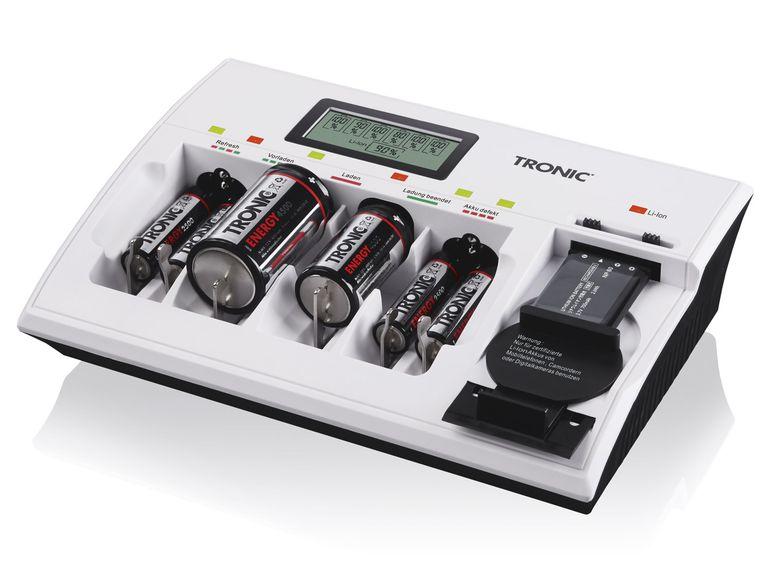 Tronic Universal-Akkuladegerät mit Li-ION TLGL 1000 B1 bei Lidl ab 30.10.2017 erhältlich
